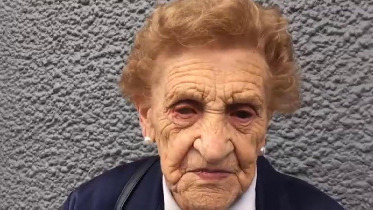 Victoria, la mujer de 94 años que ha perdido su casa después de que unos okupas se la quitaran mientras no estaba