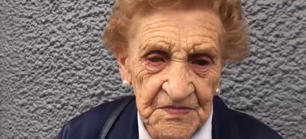 La mujer que ha perdido su casa