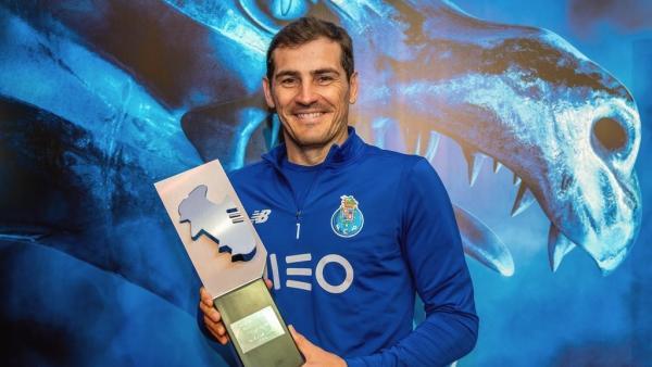 Iker Casillas, nombrado mejor portero de la temporada pasada en Portugal