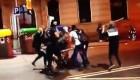 Los Mossos detienen a dos de los ultras que apalearon a un independentista