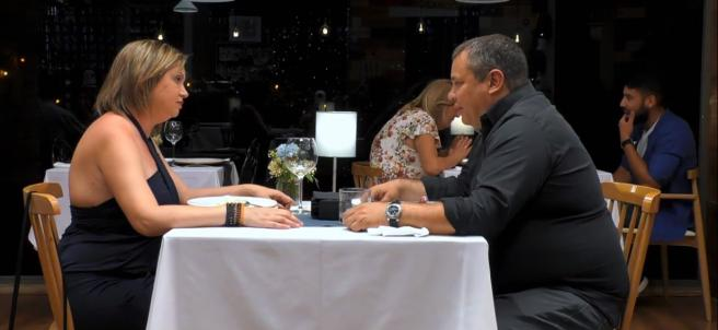 Ana Isabel y Javier, en 'First dates'.