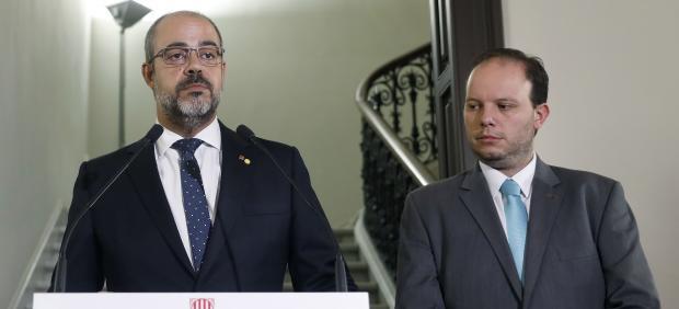 Miquel Buch y Pere Ferrer