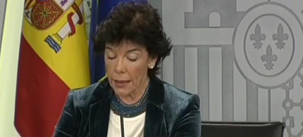 Isabel Celáa.