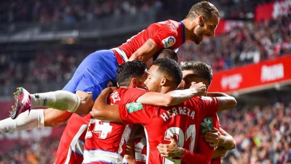 Un gol de Duarte mantiene lanzado al Granada