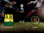El Atlético Bucaramanga muestra su poderío tras golear al Jaguares FC (4-0)