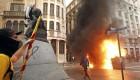 Los radicales que siembran el caos en Cataluña