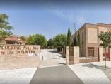 Exterior del colegio de Nuestra Señora de los Infantes de Toledo