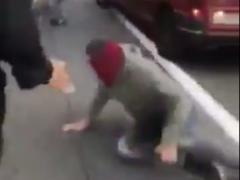 Una furgoneta atropella a un joven en la C-60
