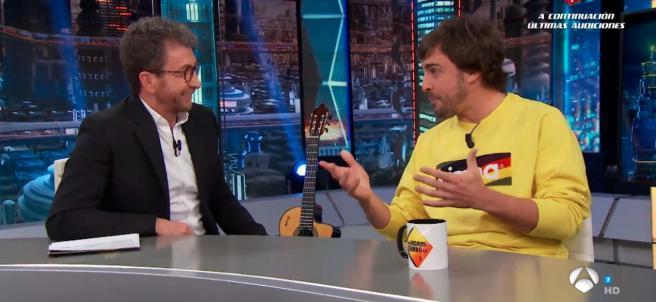 Fernando Alonso, en El Hormiguero