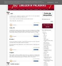 http://www.cincuentapalabras.com