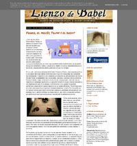 http://www.lienzodebabel.blogspot.com