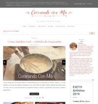 http://cocinandoconma.blogspot.com