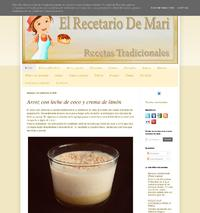 http://www.elrecetariodemari.com