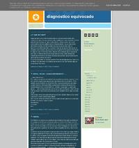 http://diagnosticoequivocado.blogspot.com