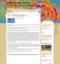 http://www.adioslolasadios.wordpress.com