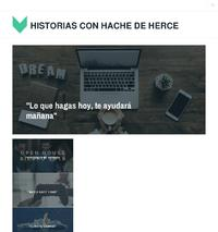 http://historiasconhachedeherce.wordpress.com