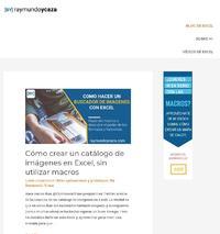 http://raymundoycaza.com/blog-de-excel/