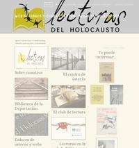 http://www.lecturasdelholocausto.com