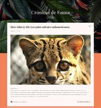 http://cronicasdefauna.blogspot.com