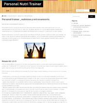 http://www.tuentrenadorpersonal.pro/blog