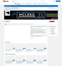 https://www.youtube.com/user/MCLEROTV