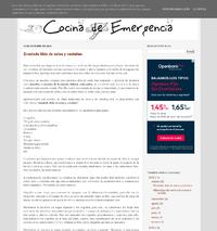 http://cocinadeemergencia.blogspot.com